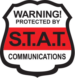 footer home security systems company logo shield of stat communications near watertown ny and syracuse ny